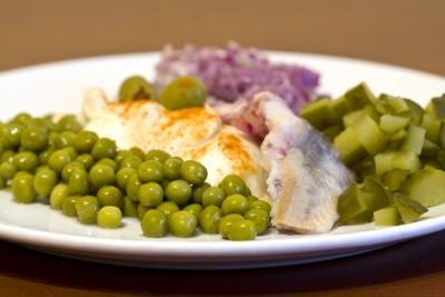 Блюдо рыбной диеты