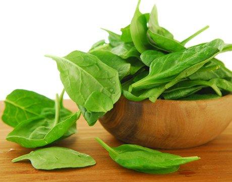 шпинат полезный продукт