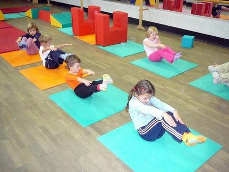 фитнес упражнения для детей
