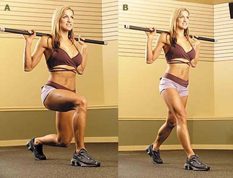 как сжечь жир на ляшках женские упражнения
