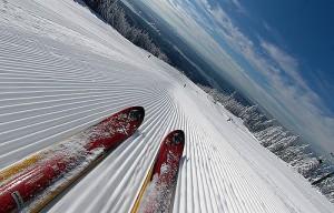 выбор лыж для катания в горах
