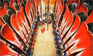 магазин продажи лыж для гор