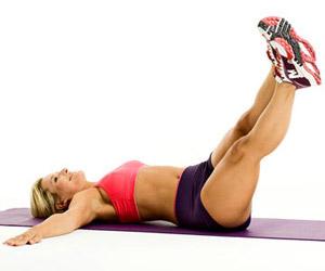 упражнение на боковые мышцы