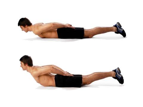 Как накачать мышцы спины в 25